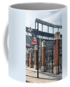 Watch Out For Batted Balls Coffee Mug by Susan Candelario