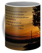 Watch The Sun Set Coffee Mug by John Malone
