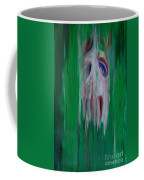 Watcher In The Green  Totem Series  Coffee Mug