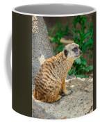 Watchful Meerkat Vertical Coffee Mug