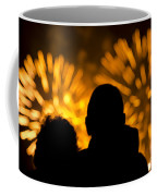 Watching Fireworks Coffee Mug
