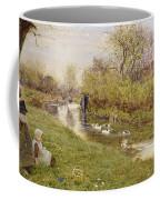 Watching The Ducks Coffee Mug