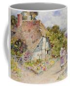 Watching The Ducks Coffee Mug by William Stephen Coleman