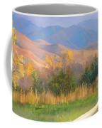 Watching The Field  Coffee Mug