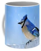 Watching The Snow Coffee Mug by Betty LaRue