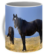 Watching You Wild Mustang Coffee Mug