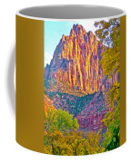 Watchman's Peak In Zion National Park-utah Coffee Mug