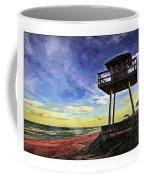 Watchtower On The Beach Coffee Mug