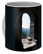 Watchtower Window View From The Great Wall 637 Coffee Mug