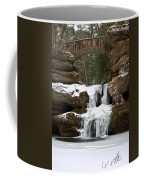 Water And Ice Flow Coffee Mug