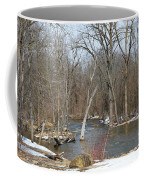 Water And Snow Coffee Mug