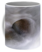 Water Around A Rock Coffee Mug