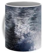 Water Behind A Ship Coffee Mug
