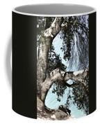 Water Beyond The Tree Coffee Mug