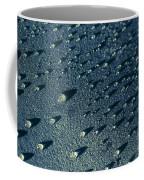 Water Droplets Close-up View  Coffee Mug