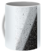 Water Drops On A Window Coffee Mug