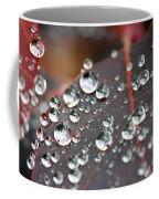 Water Drops On Cotinus Coffee Mug