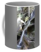 Water Fall In Hocking Hills Coffee Mug