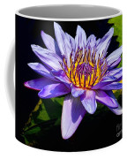 Water Flower Coffee Mug by Nick Zelinsky