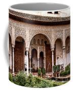 Water Gardens Of The Palace Of Generalife Coffee Mug