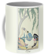 Water Coffee Mug by Georges Barbier