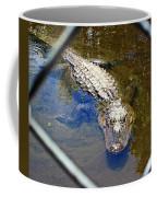 Water Hole Gator Coffee Mug
