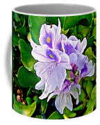 Water Hyacinth On Rapti River In Chitwan Np-nepal Coffee Mug