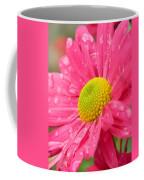 Water Kissed Pink Chrysanthemum 2 Coffee Mug
