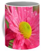 Water Kissed Pink Chrysanthemum  Coffee Mug