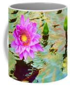 Water Lilies 002 Coffee Mug