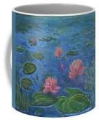 Water Lilies Lounge 2 Coffee Mug by Felicia Tica