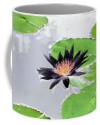 Water Lily - Purple Power - Photopower 1376 Coffee Mug