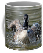 Water Logged - Canadian Goose Coffee Mug