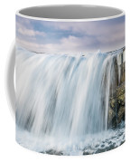 Water Over The Jetty Coffee Mug