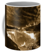 The Mighty Power Of The Falls Coffee Mug