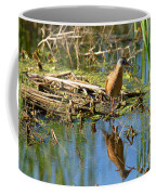 Water Rail Reflection Coffee Mug