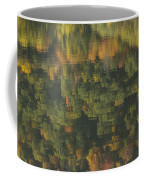 Water Reflections Abstract Autumn 2 A Coffee Mug