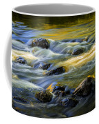 Beautiful Water Reflections On The Flowing Thornapple River Coffee Mug