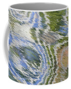 Water Ripples In Blue And Green Coffee Mug