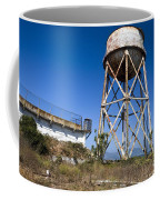 Water Tower Alcatraz Island Coffee Mug