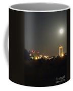 Water Tower Town At Night Coffee Mug