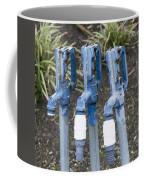 Water Water Water In Blue Coffee Mug