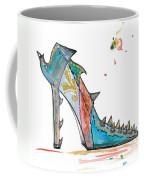 Watercolor Fashion Illustration Art Coffee Mug