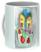 Watercolor Hamsa  Coffee Mug by Linda Woods