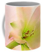 Watercolor Lily Bloom Coffee Mug