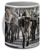 Watercolor Longhorns Coffee Mug