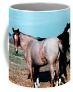 Watercolor Mustangs Coffee Mug