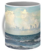 Watercolor Photograph Of Atlantic Ocean Coffee Mug