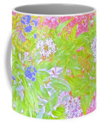 Bouquet Of Flowers Watercolor Photography Coffee Mug