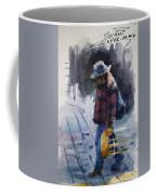 Watercolor Sketch Coffee Mug